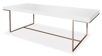 Athos table by b b italia from contemporaryhi - B b italia athos dining table ...