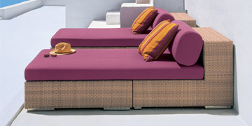 Lounge Daybed from Dedon